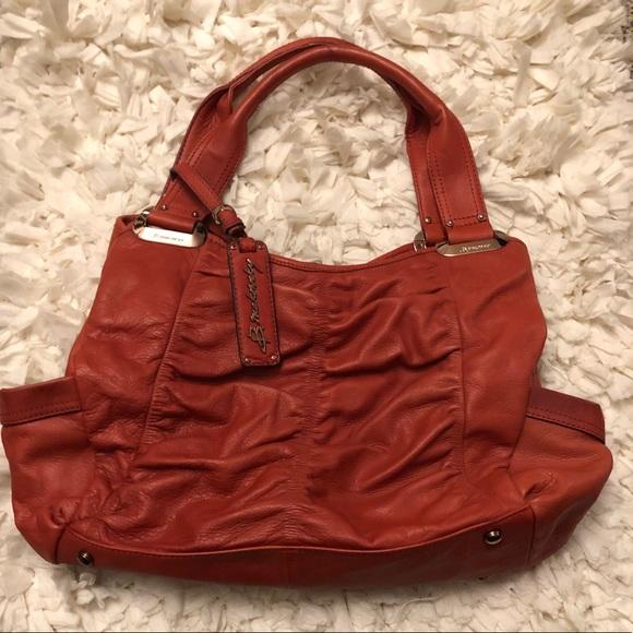 b. makowsky Bags   B Makowsky Leather Handbag   Poshmark 58b56baadd